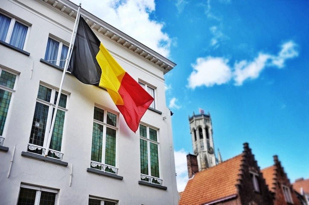 Brugge Belgium Flag