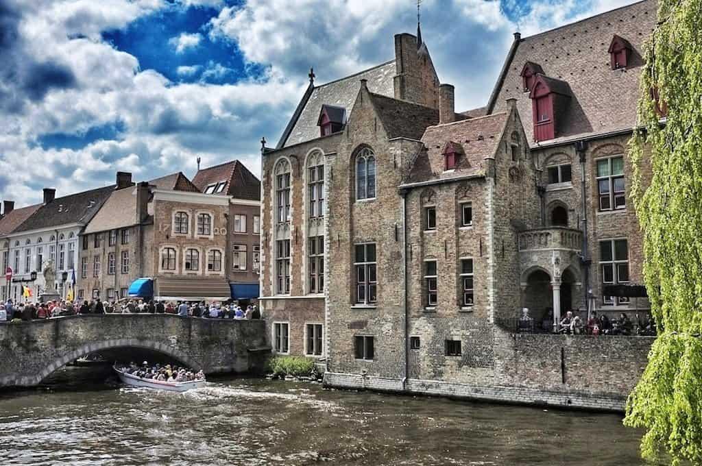 Brugge Bridge_Snapseed