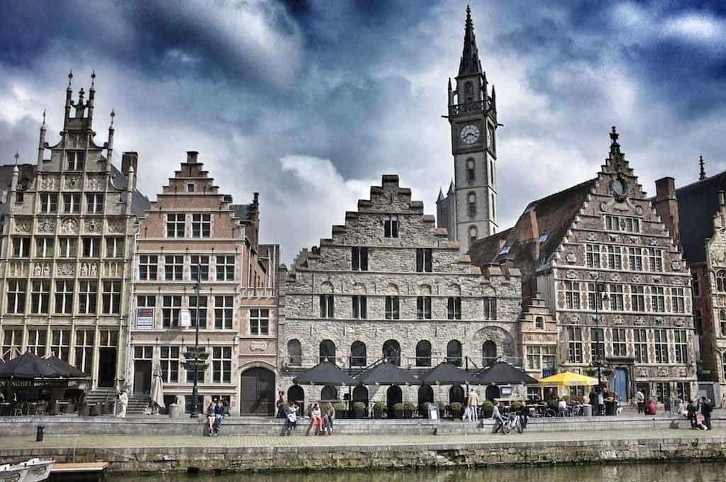 Ghent - one the most beautiful towns in Belgium