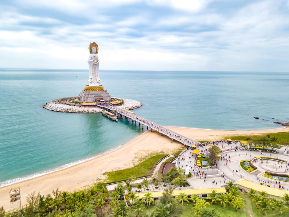 Guanyin Statue - best places to visit in China