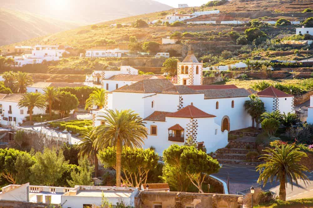 Betancuria Fuerteventura island