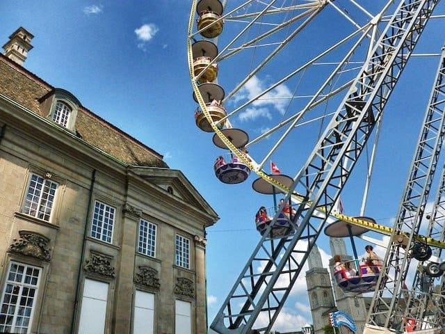 Big Wheel Zurich festival