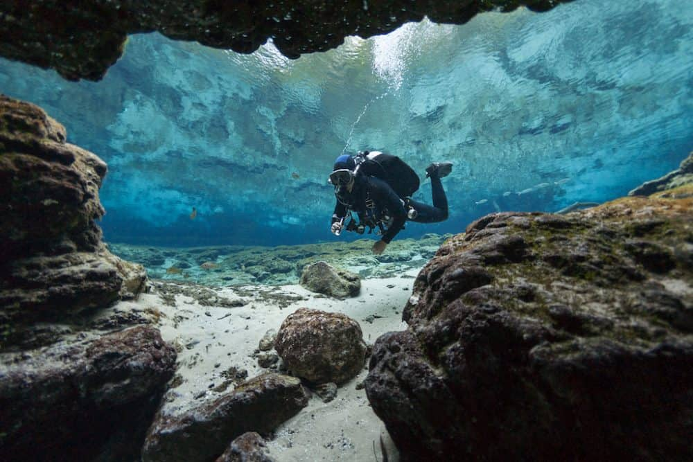 Cave Diving Ginnie Springs