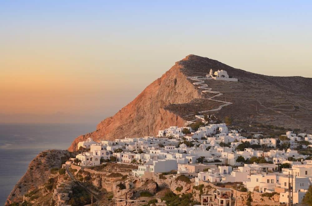 Chora Folegandrou Greece