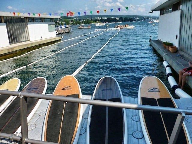 Paddle Boarding Zurich