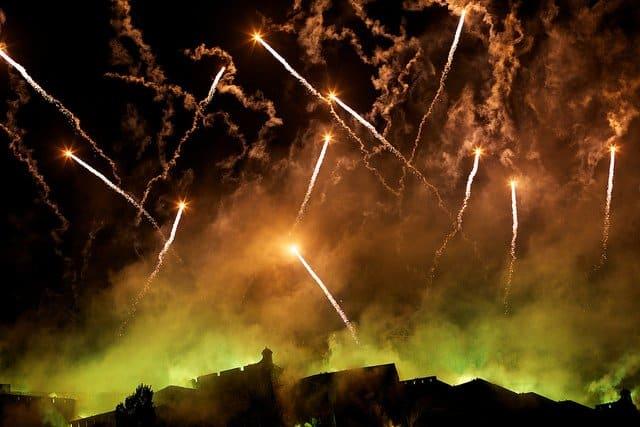 Fireworks Edinburgh festival