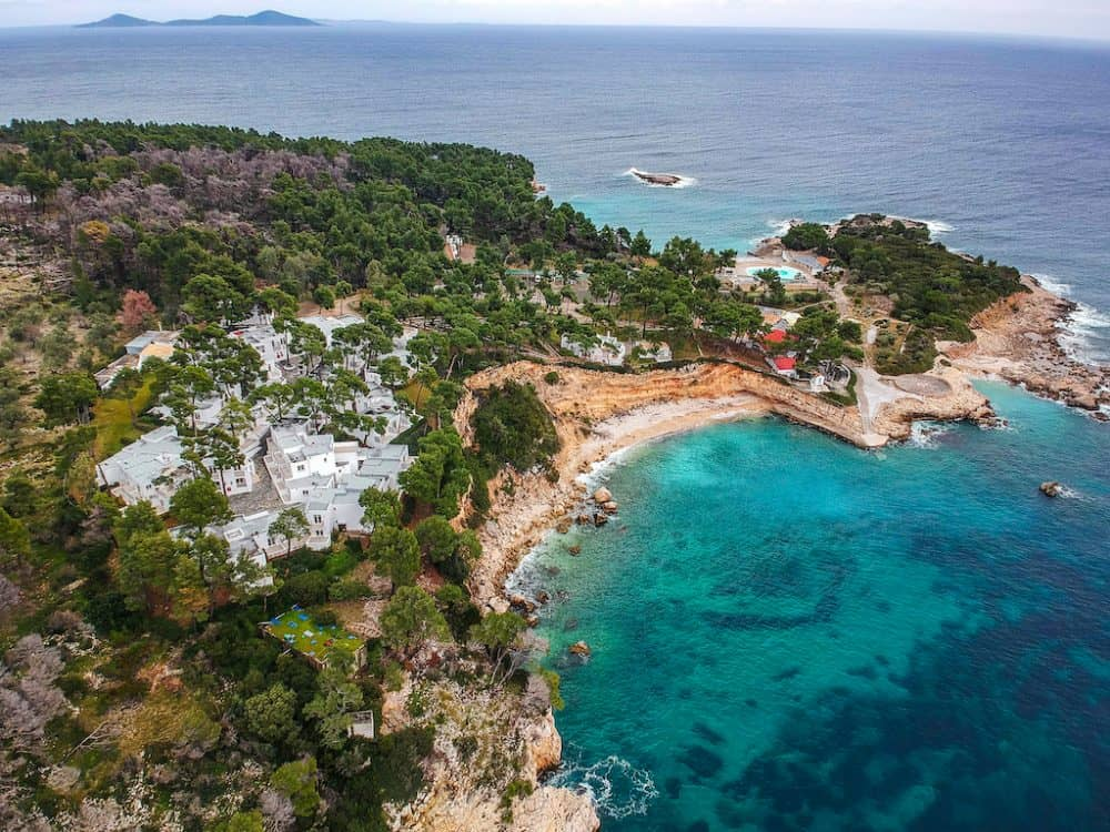 National Marine Park of Alonnisos Northern Sporades - pretty national parks in Europe