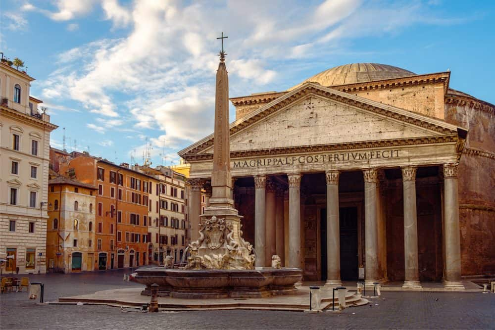 The Pantheon Rome - beautiful places to visit in Rome