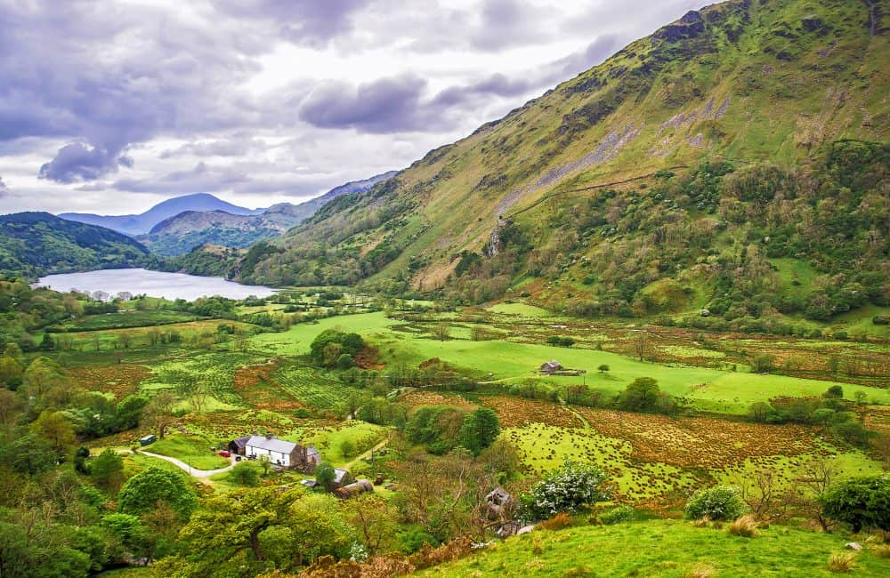 Snowdonia National Park - one of the most beautiful places to visit in Wales