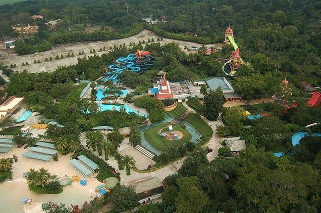 Xocomil waterpark