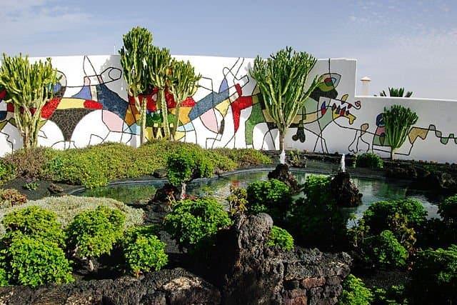 Fundación César Manrique, Lanzarote