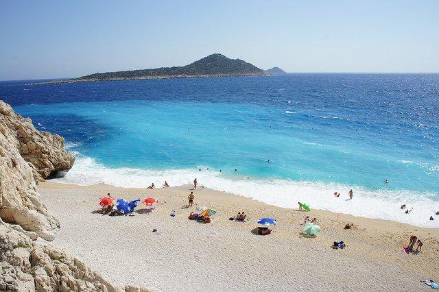 Kaputas - most unspoilt beaches in Turkey