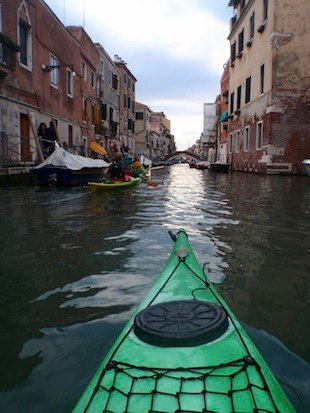 Kayaking through Venice (forget the gondolas)! Global Grasshopper