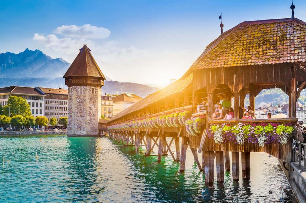 Lucerne - the prettiest places to visit in Switzerland