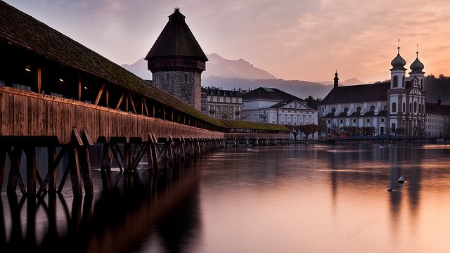 Lucerne - most beautiful places to visit in Switzerland