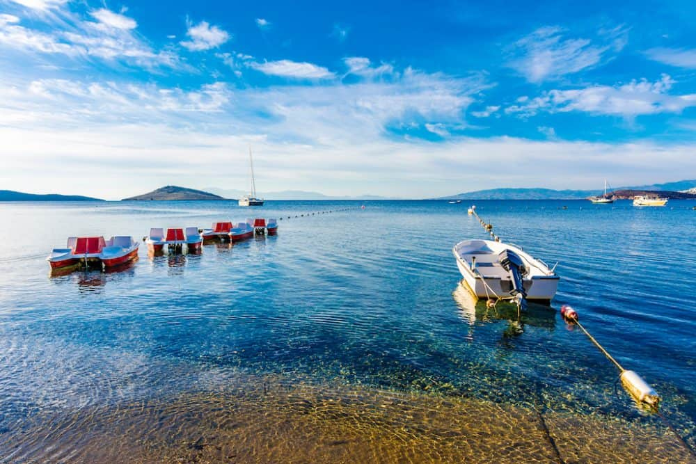 Ortakent - best beaches in Turkey