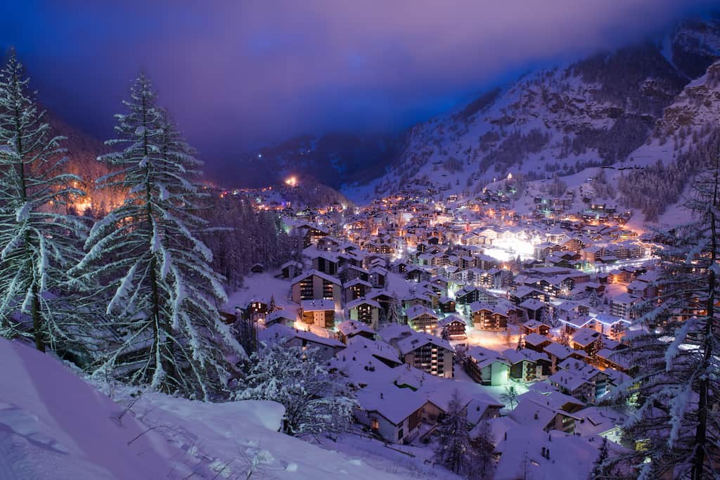 Zermatt - Top 10 of the best party ski resorts in Europe