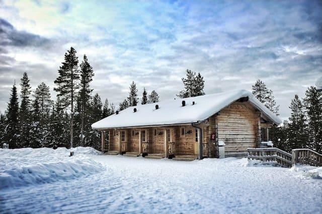Basecamp-Oulanka-Finland at Christmas