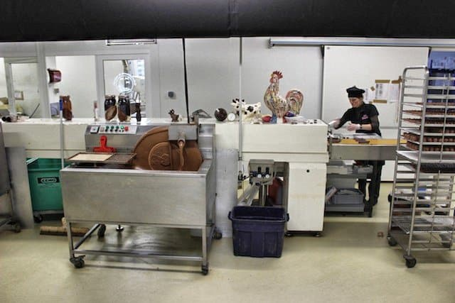 Chocolate making in Le Touquet, France