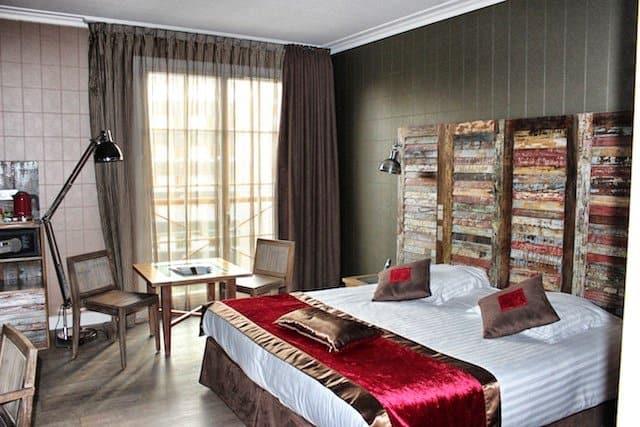 Le Tourquet hotel bedroom