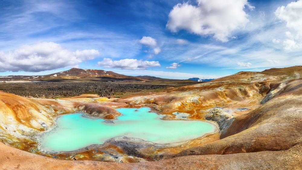 Geothermal valley Leirhnjukur.