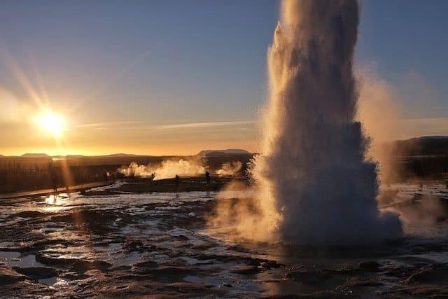 Strokkur-Erupting in Iceland