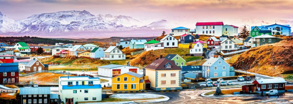 Stykkisholmur - prettiest places in Iceland