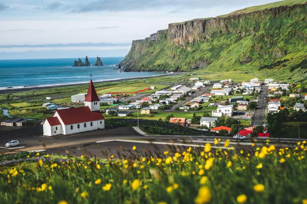 Vik i Myrdal - best places to visit in Iceland