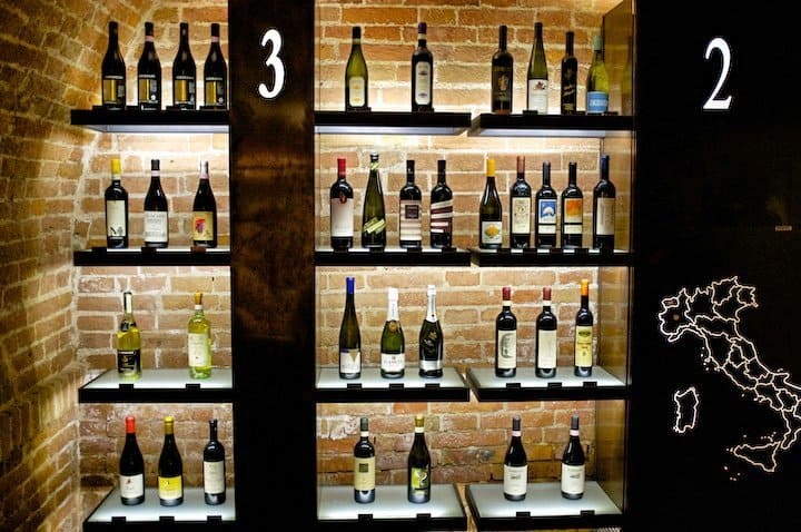 Wine Rack in Italy