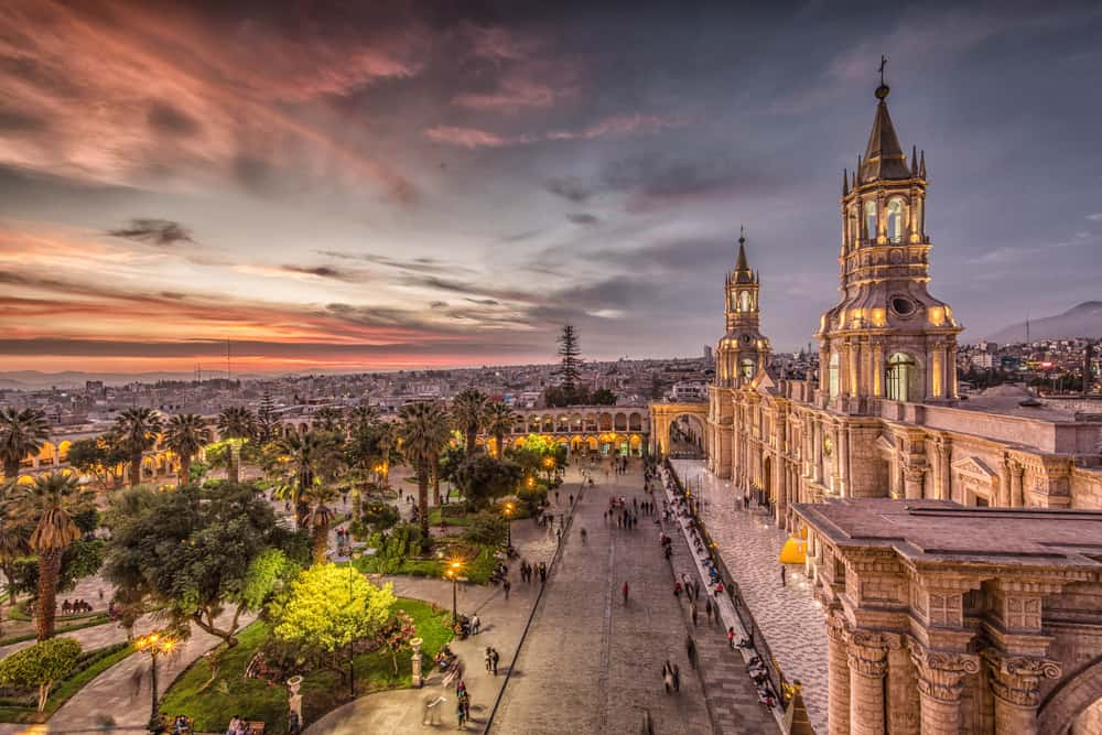 Beautiful Arequipa Peru