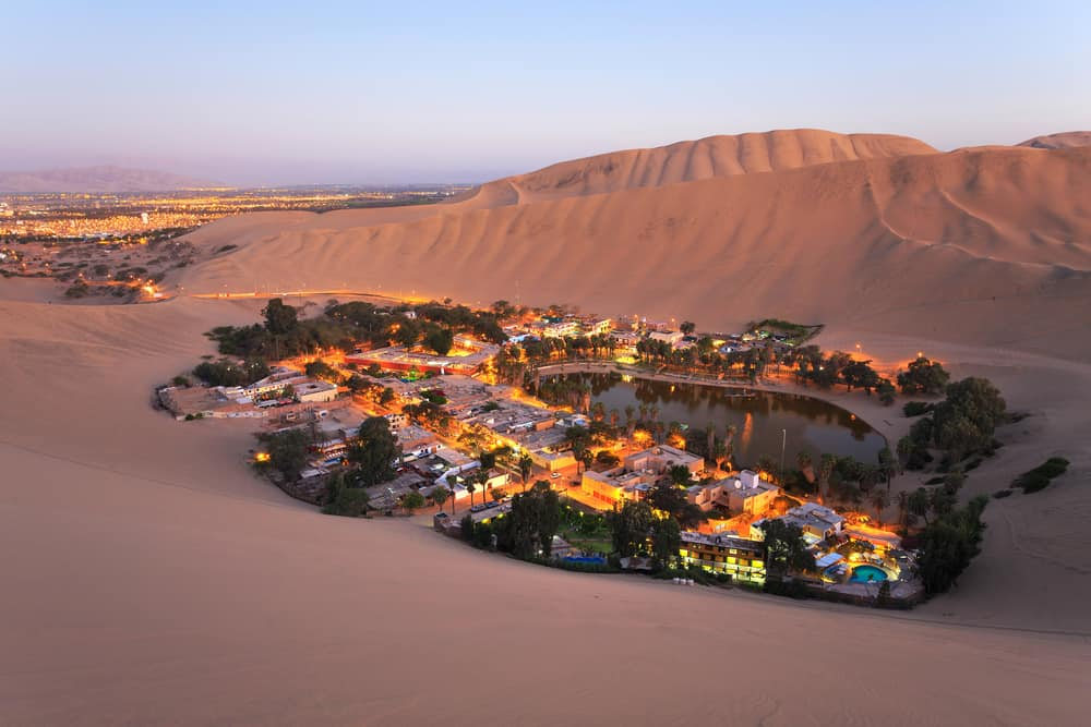 Atacama Desert Oasis