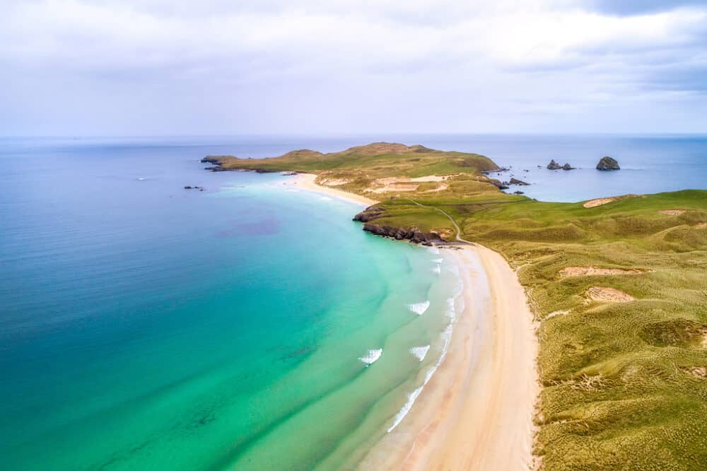 Balnakeil Bay - one of the most beautiful beaches in the Highlands