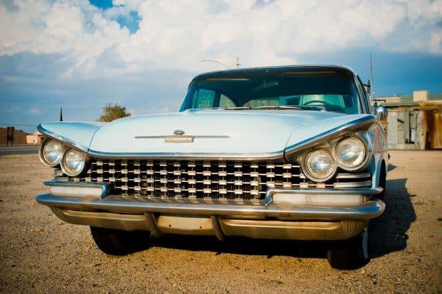 Cool retro car