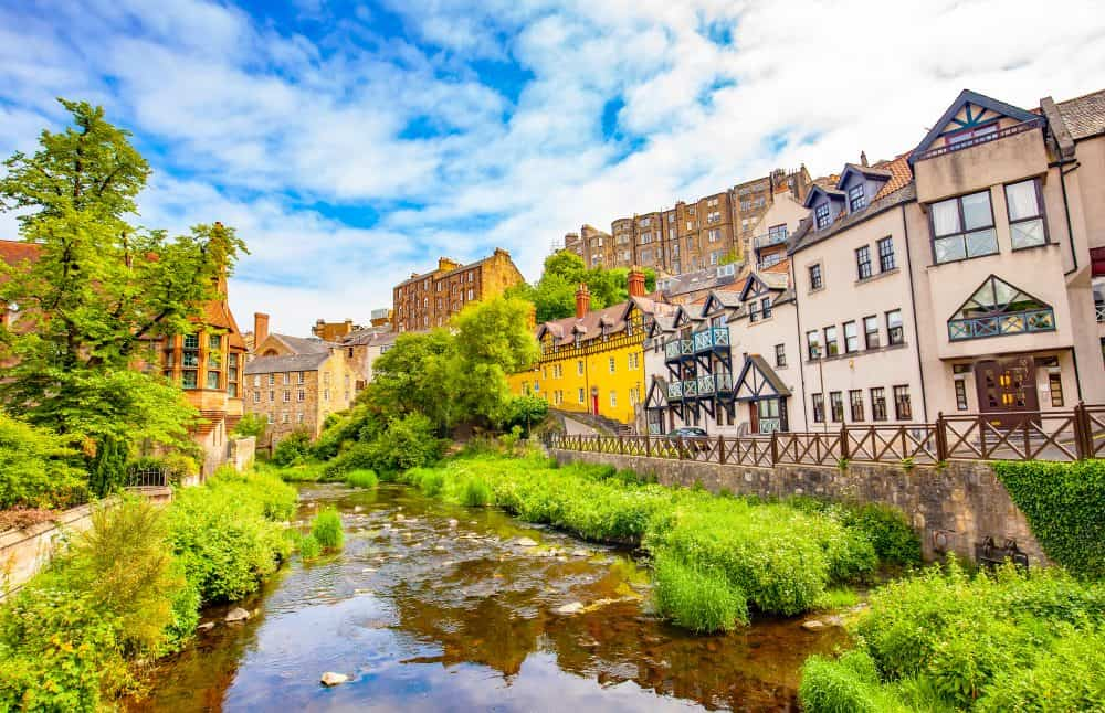 Dean Village - great places to visit in Scotland