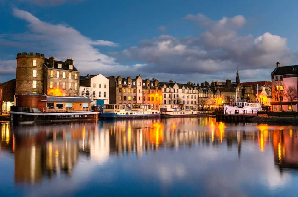 Edinburgh - Scotland's fine and majestic capital
