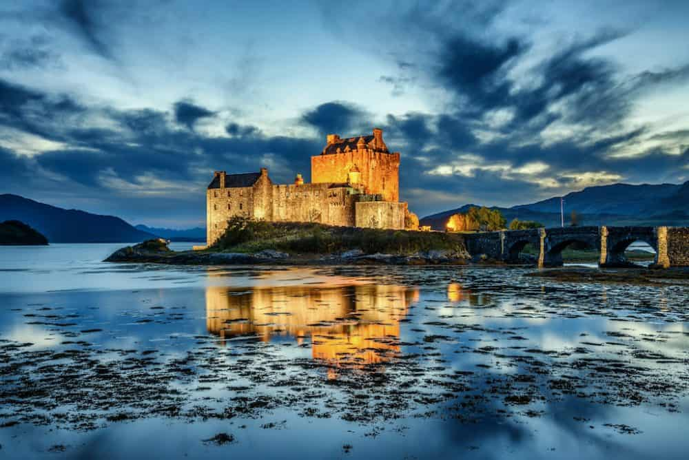 Eilean Donan - one of the most photogenic castles in Scotland