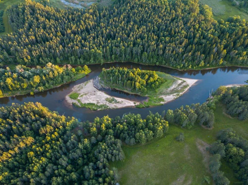 Gauja River - prettiest river journeys