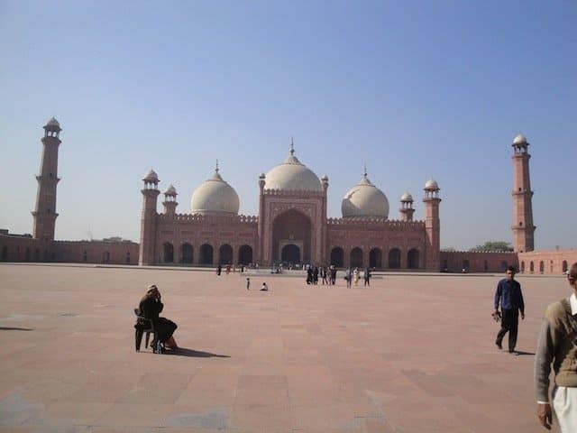 Image 6 Badshashi mosque courtyard