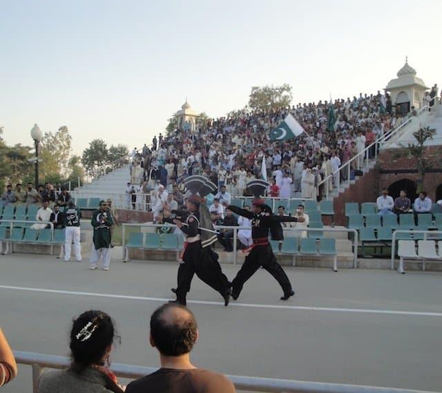 Image 9 Wagah border ceremony