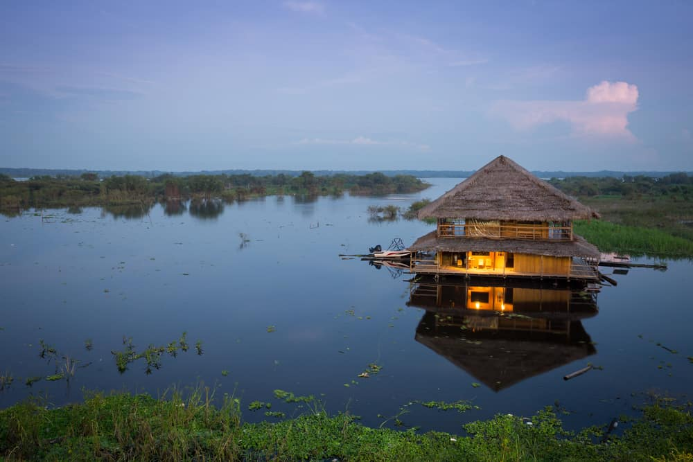 Iquitos Floating House