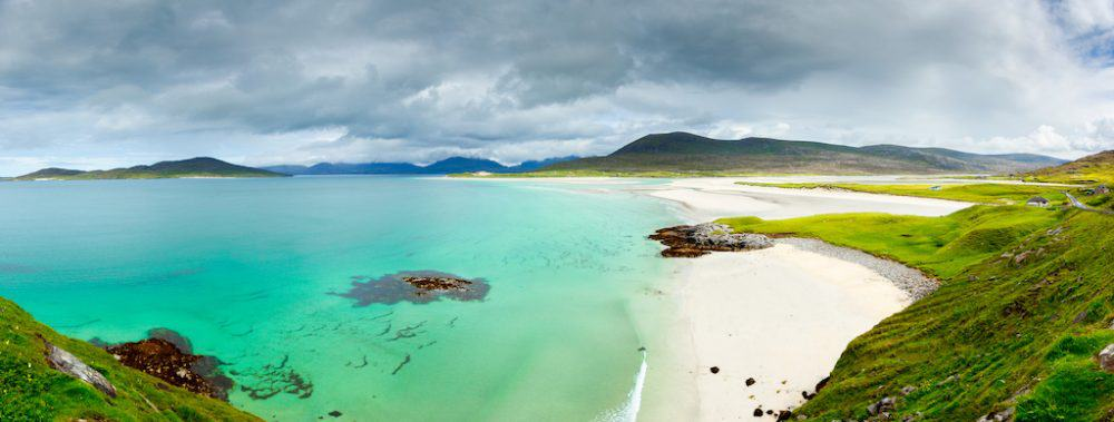 Luskentyre Beach, Isle of Harris Scotland