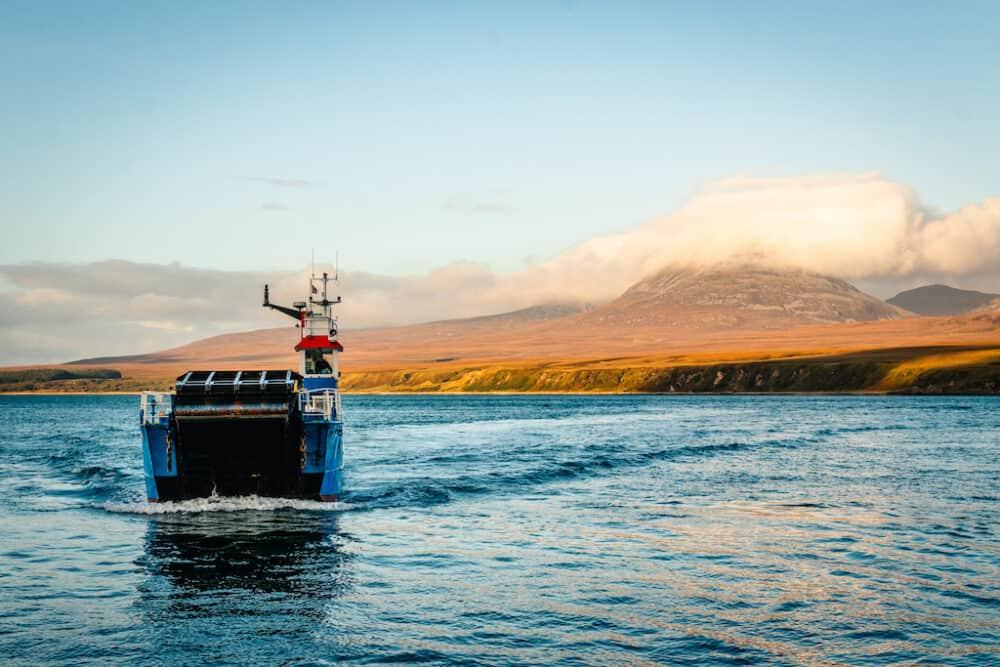 The Isle of Jura ferry