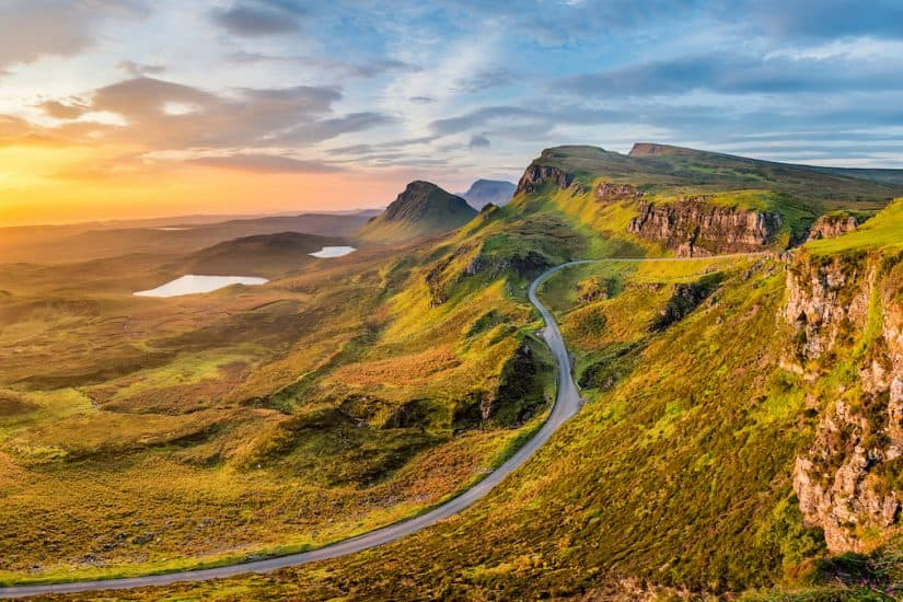 Isle of Skye - stunning places to visit in Scotland
