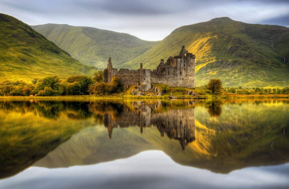 Kilchurn Castle - a romantic and evocative ruin on Loch Awe