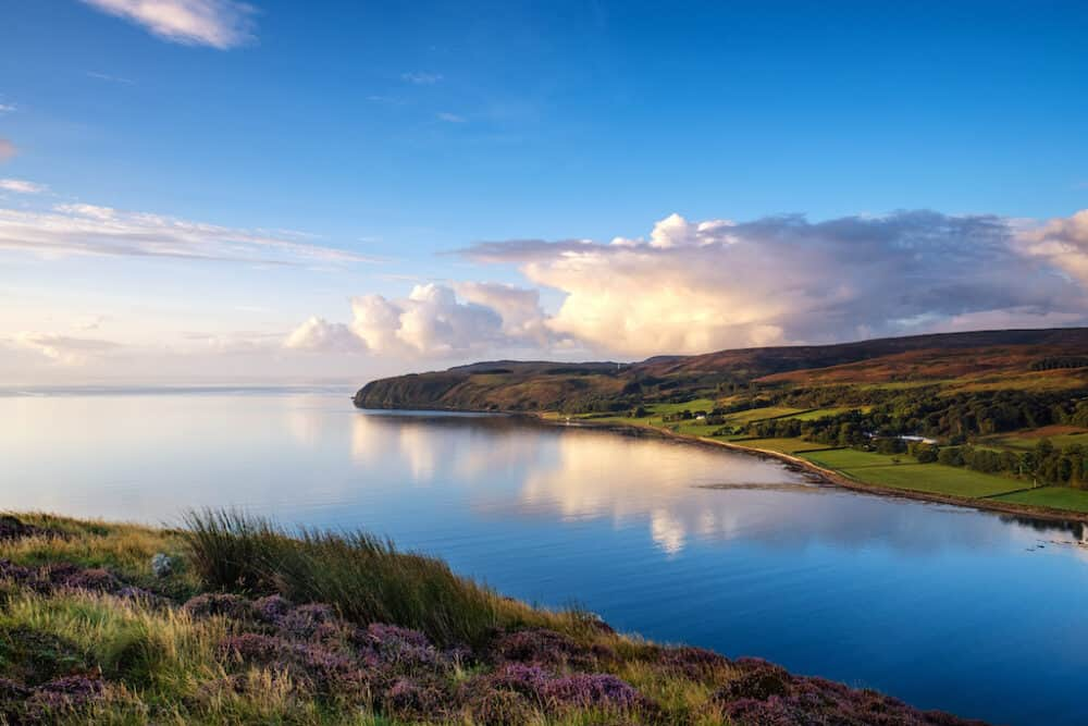 Kintyre Peninsula - a famously beautiful place in Scotland