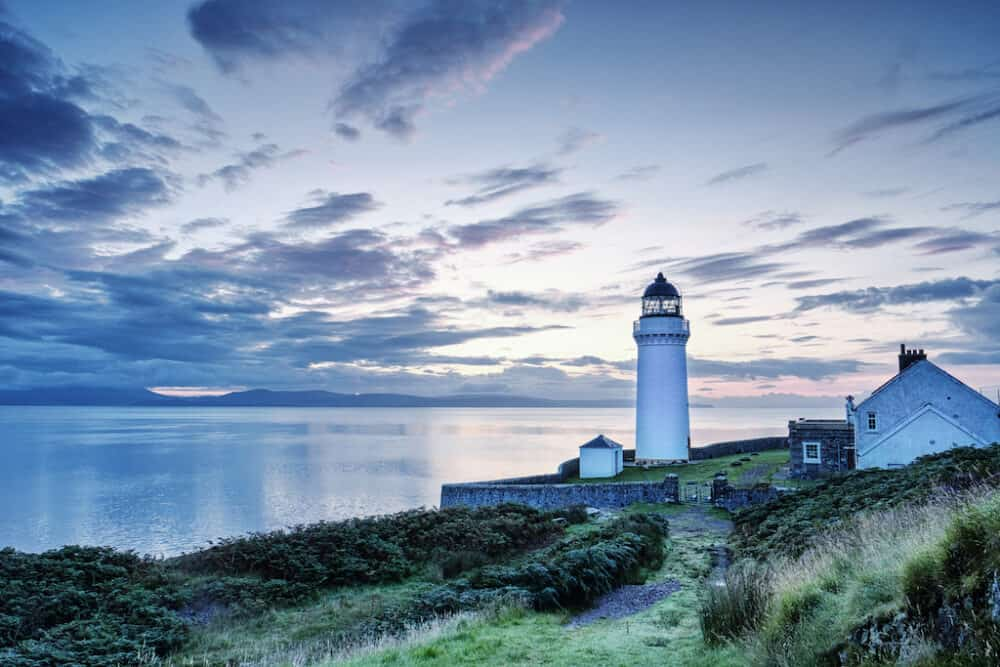 Kintyre Peninsula - a famously beautiful long, tranquil and romantic Scottish Peninsula