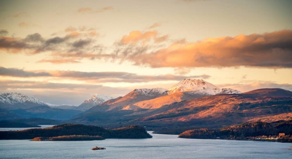 Loch Lomond and The Trossachs National Park - a unique and romantic place in Scotland to visit