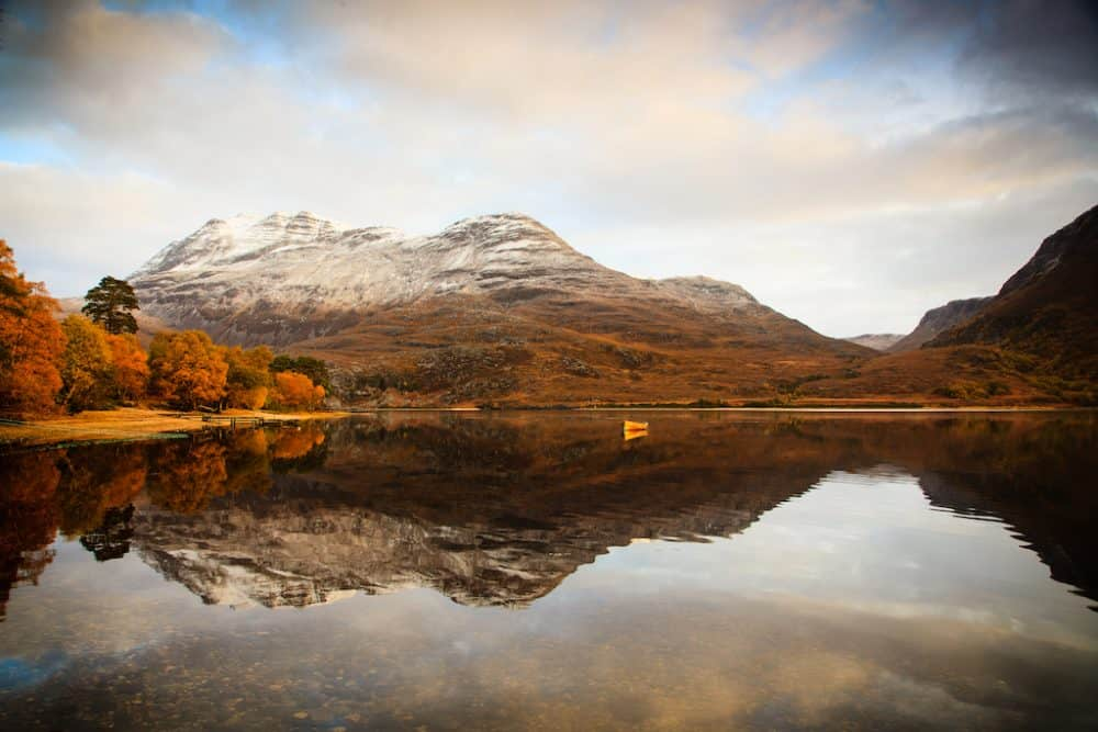 Loch Maree - great places to visit in Scotland