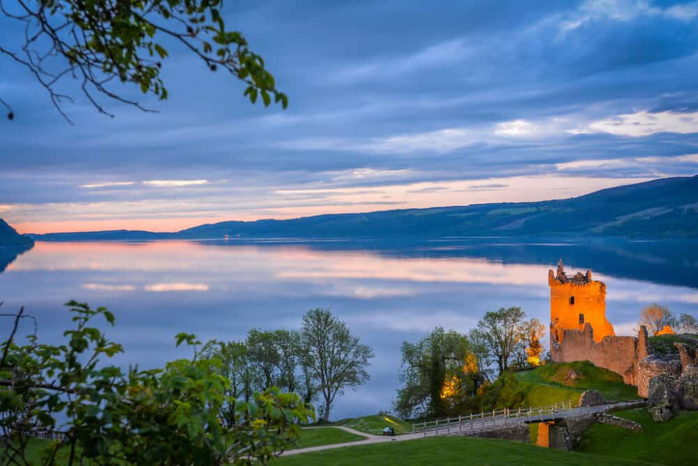 Loch Ness - Scotland's most famous lake surrounded by myth and legend