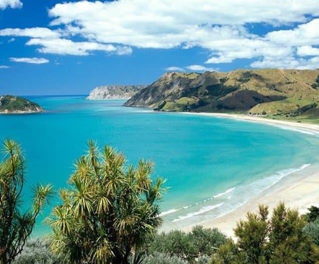 New Zealand camping